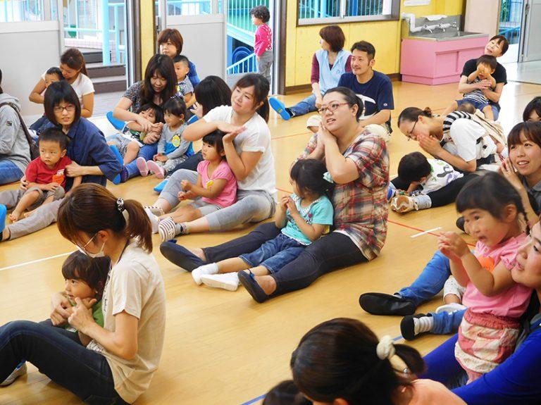 親子教室「おやこでげんき」